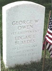 Lt. George W. Owen, Jr., 1922-1944