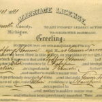 Gottfried Hann's 1891 Marriage License