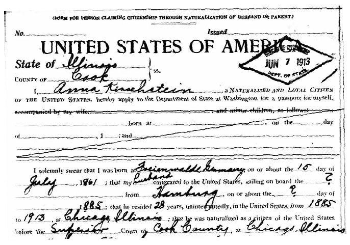 Surname Saturday: Birth and Baptism of Anna SCHUMANN