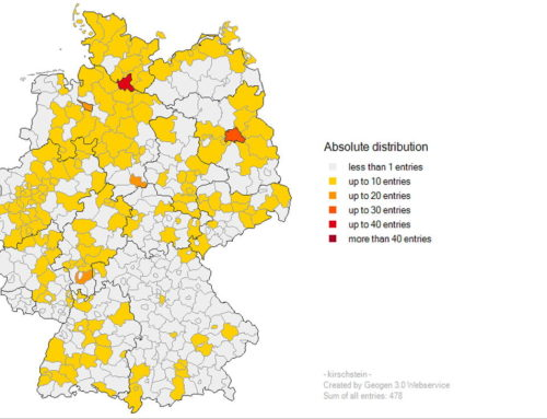 Geogen German Surname Mapping