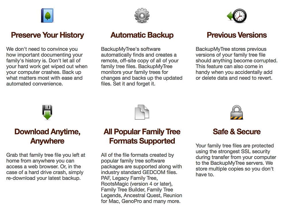 Tuesday's Tip: Backupmytree.com