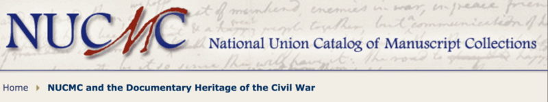 Documentary Heritage of the Civil War