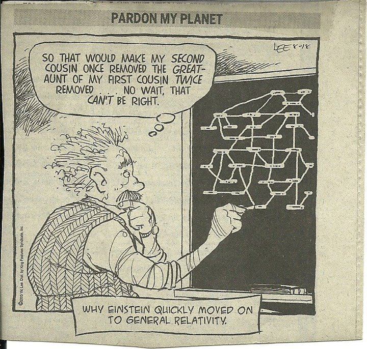 And Now Some Genealogical Comic Relief