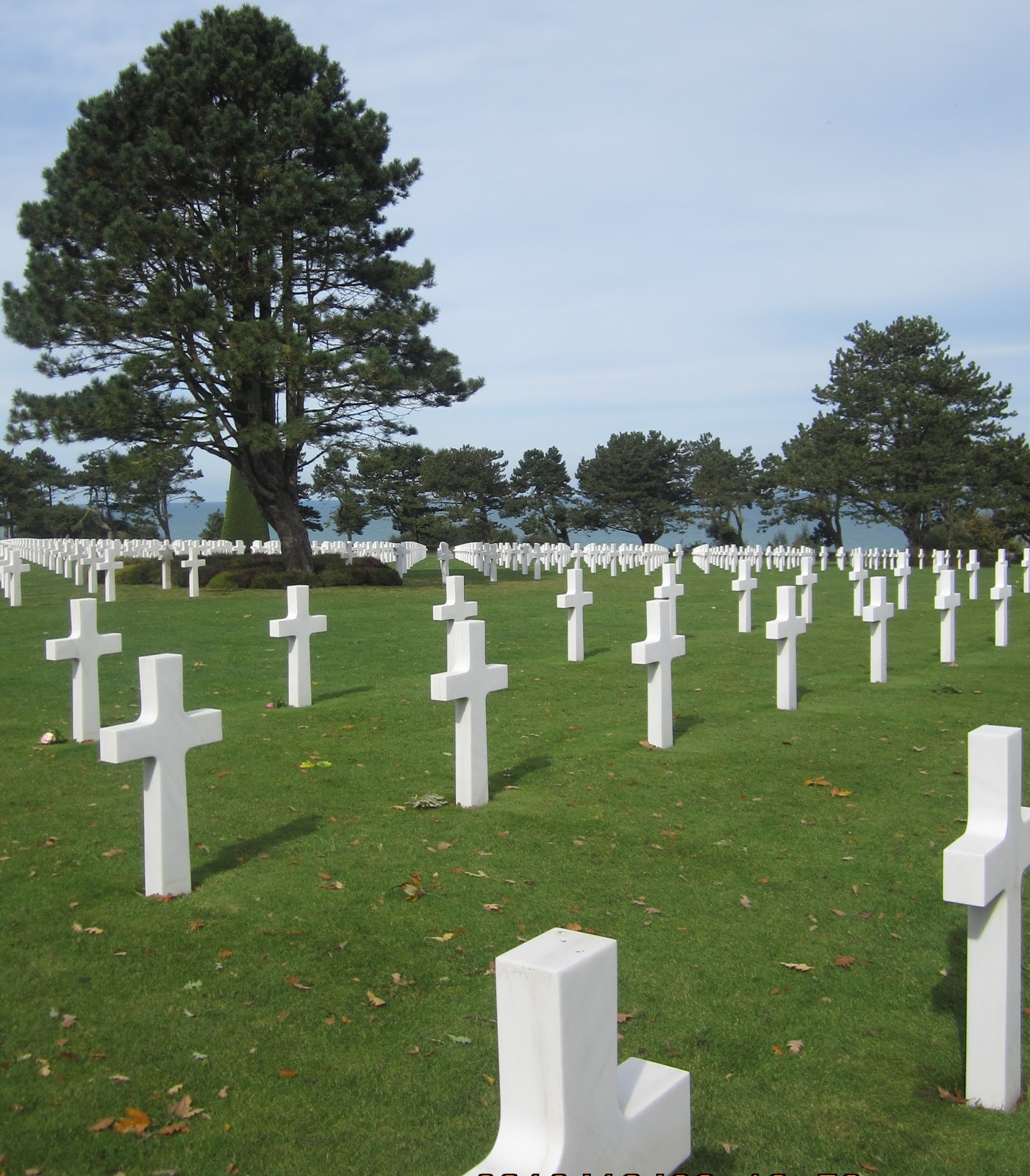Normandy American Cemetery and Memorial, 6 Oct 2012