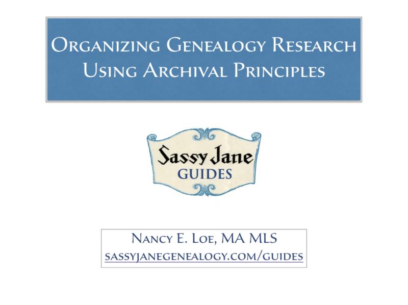 Organizing the Sassy Jane Way