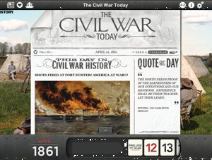 Apps explore Civil War and World Wars I and II