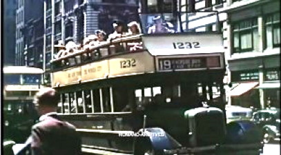 New York City in Color in 1939
