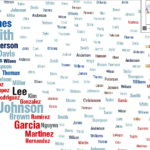 US Immigration Interactive Map Sassy Jane Genealogy - Interactive us surnames map