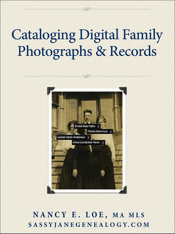 cataloging digital family photographs & records