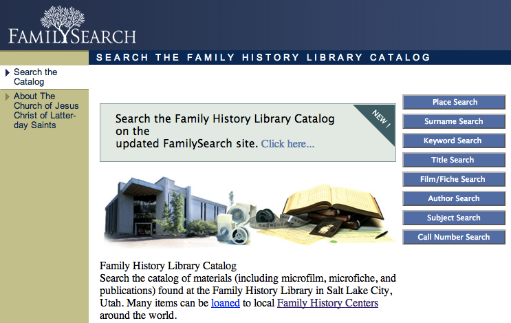 FamilySearch Place Name Searches sassy jane genealogy