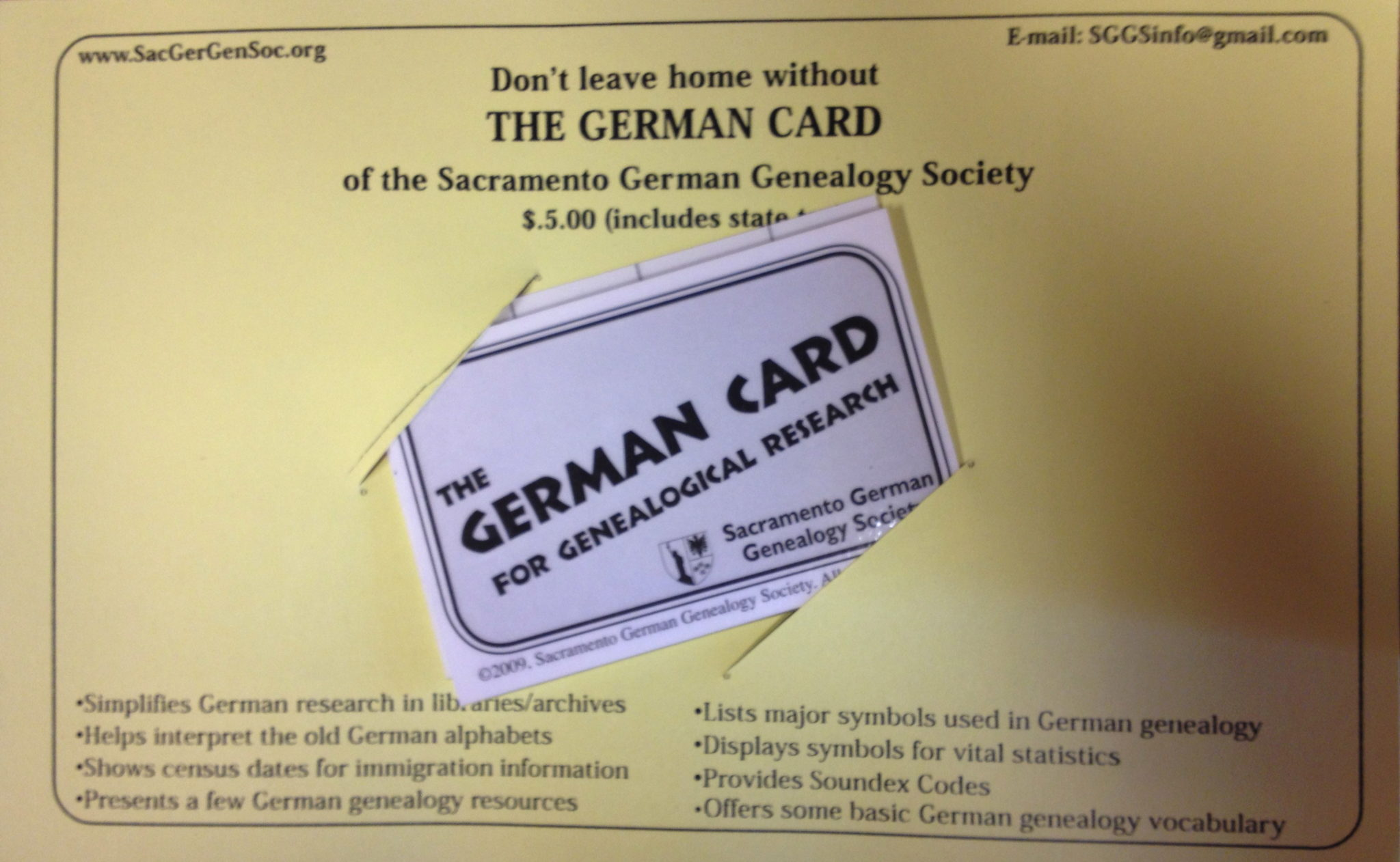 germancard