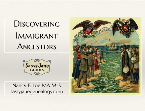 New Immigrant Ancestors Guide Available