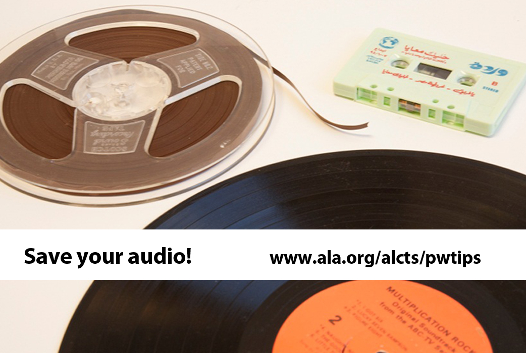 Preservation Week 2014 Audio Sassy Jane Genealogy