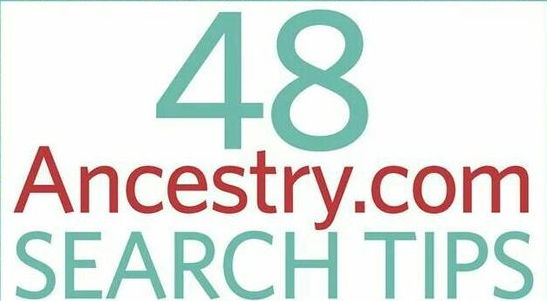 Free e-Book on Ancestry Search Tips