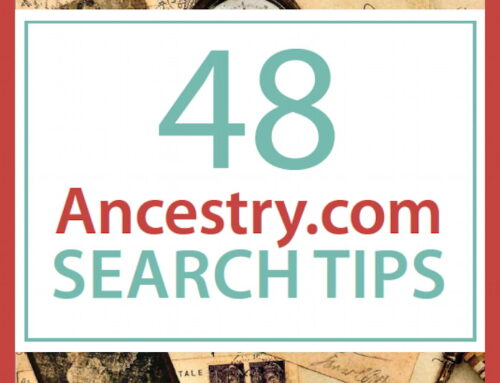 Ancestry Search Tips Free eBook