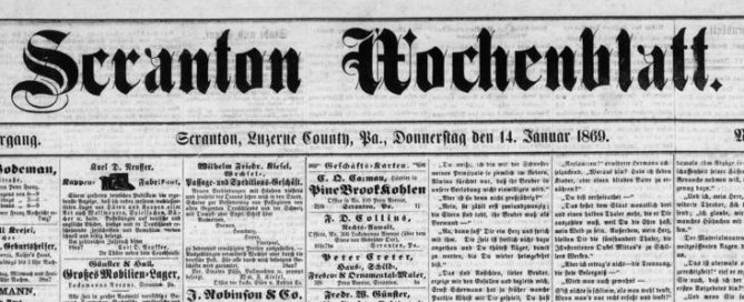 Free Online German-Language Newspapers sassy jane genealogy