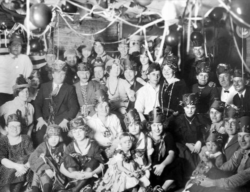 Swedish New Year's Eve in 1925 Chicago