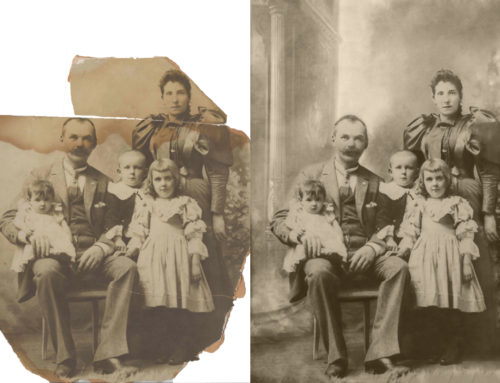 Restoring Digital Family Photos