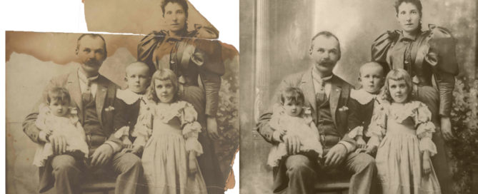 Restoring Digital Family Photos sassy jane genealogy
