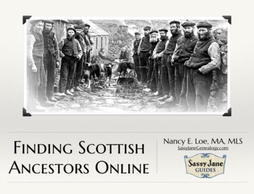 Finding Scottish Ancestors Webinar & Guide