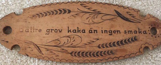 Swedish Bread Plate