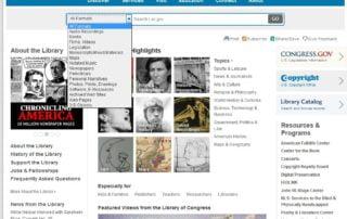Searching LOC.gov Webinar