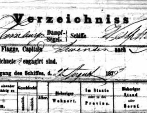 Translating Hamburg Passenger List Categories
