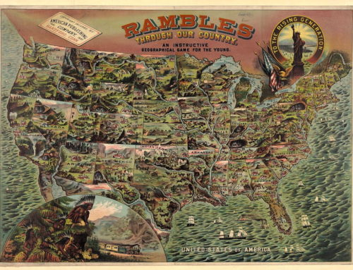 Rambles Through Our Country in 1890