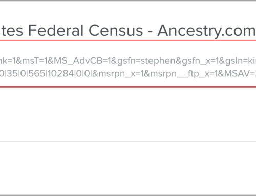 Shortening Ancestry Links