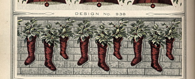 Stockings and Oranges at Christmas