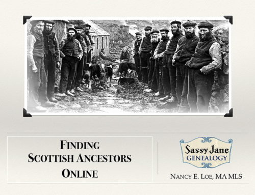 Finding Scottish Ancestors Webinar & Guide