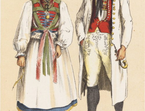 German Peasant Costumes for Genealogy Research