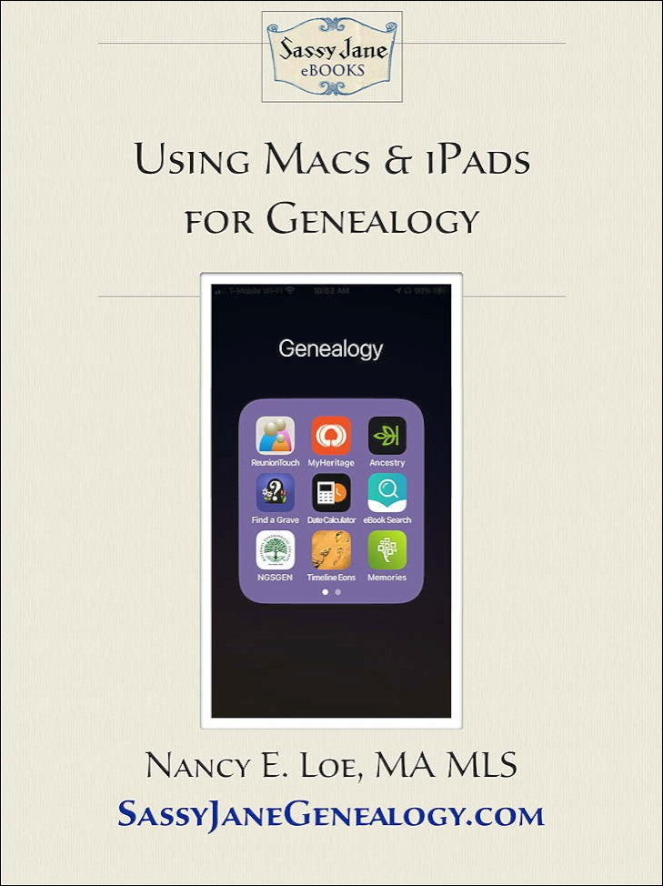 Using Macs and iPads for Genealogy