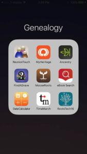 Using Macs and iPads for Genealogy folder