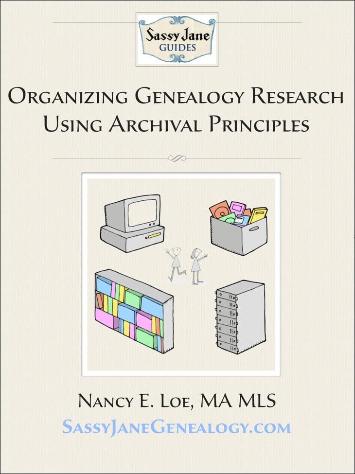 Organizing Genealogy Research