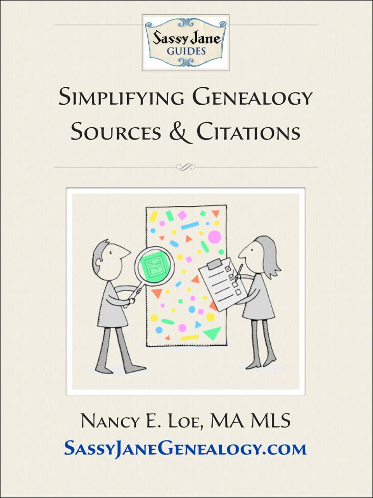 Simplifying Genealogy Sources and Citations