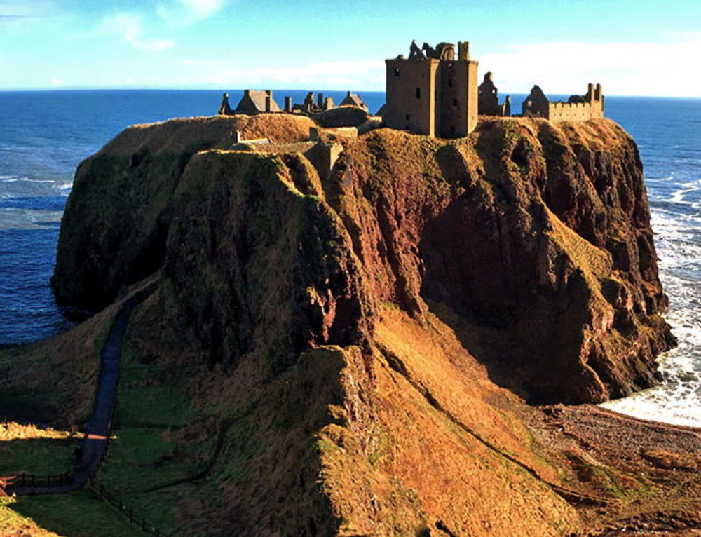 Finding Scottish Ancestors at Dunnottar