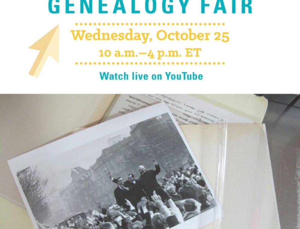 National Archives Genealogy Fair 2017