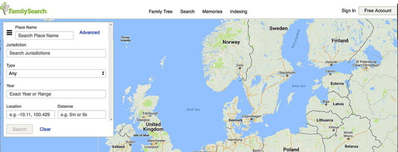 Place Names Research at FamilySearch