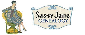 Sassy Jane Genealogy Logo
