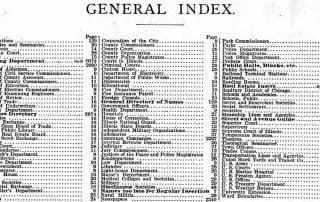 Finding More in U.S. City Directories