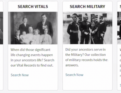 Military Free Access to Ancestry and Fold3