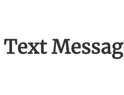 The Text Message Blog