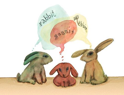 Rabbit Rabbit Rabbit First Day of the Month