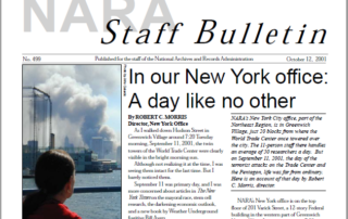 """9/11 Archives: """"A Day Like No Other"""""""