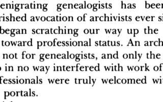 utah family history day archivists denigrating